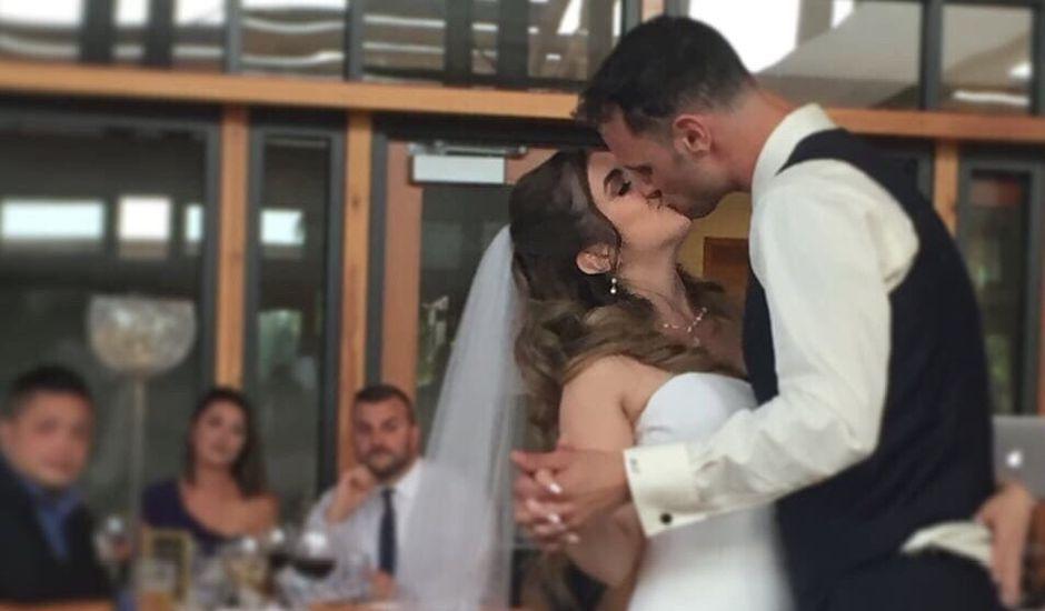 Dallyn and Cristina's wedding in Burnaby, British Columbia