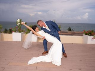 The wedding of Stephany and Gerry