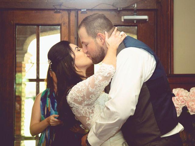 The wedding of Antonina and Josh