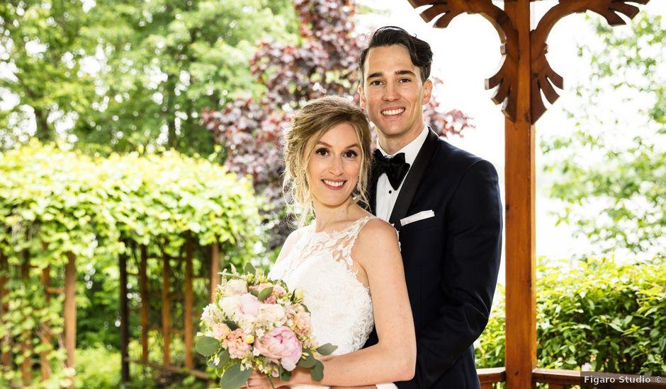 Philippe and Karine's wedding in Saint-Antoine-sur-Richelieu, Quebec