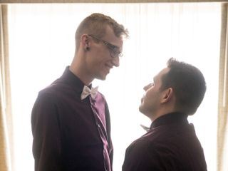 The wedding of Aaron and Kyle 1