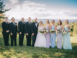 The wedding of Holly Daniel and Daniel Collet 1