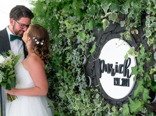 The wedding of Caitlyn and Nick