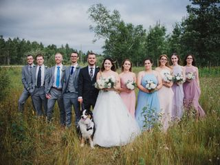 The wedding of Celine and Lachlan