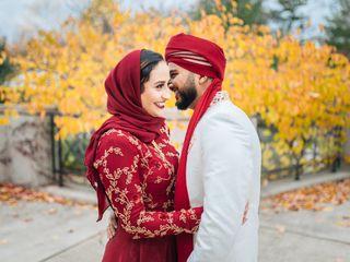 The wedding of Omar and Savana