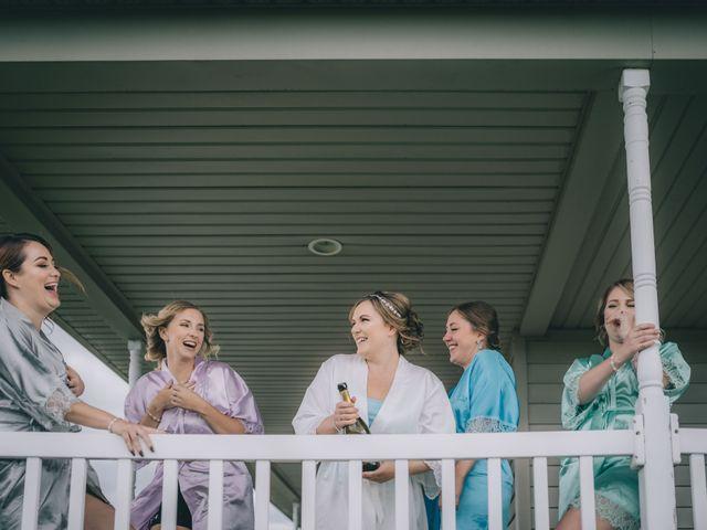 Daniel Collet and Holly Daniel's wedding in Roseneath, Ontario 1