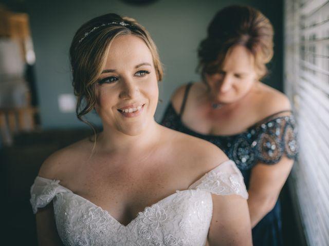 Daniel Collet and Holly Daniel's wedding in Roseneath, Ontario 2