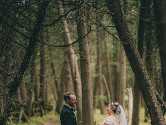 Daniel Collet and Holly Daniel's wedding in Roseneath, Ontario 4