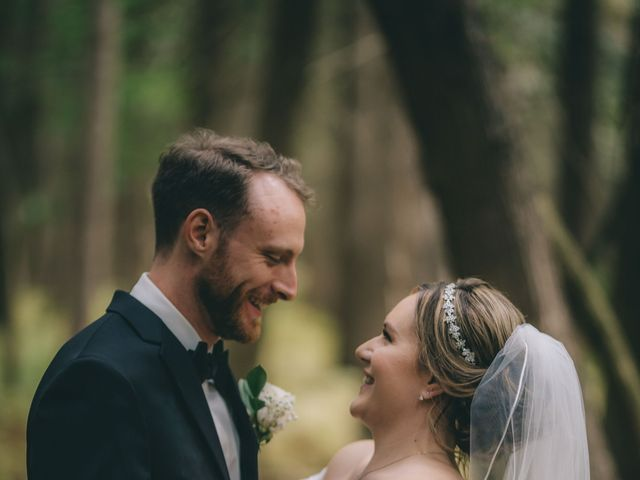 Daniel Collet and Holly Daniel's wedding in Roseneath, Ontario 5