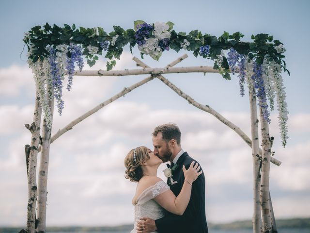 Daniel Collet and Holly Daniel's wedding in Roseneath, Ontario 9
