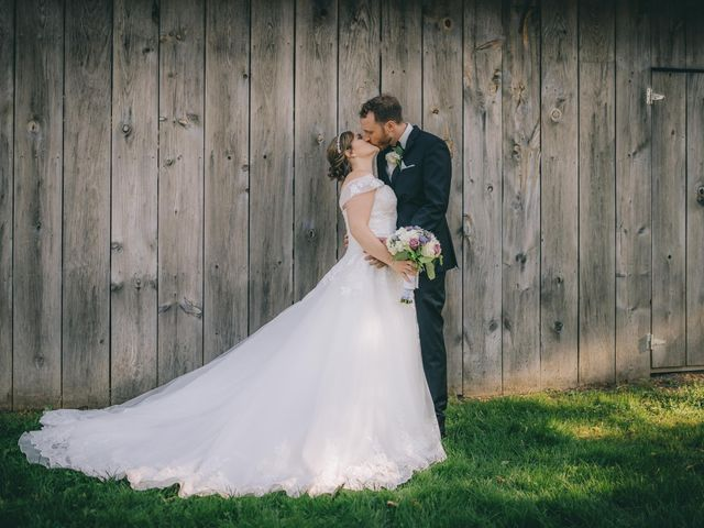 Daniel Collet and Holly Daniel's wedding in Roseneath, Ontario 11