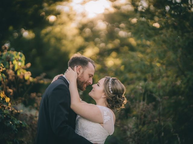 Daniel Collet and Holly Daniel's wedding in Roseneath, Ontario 12