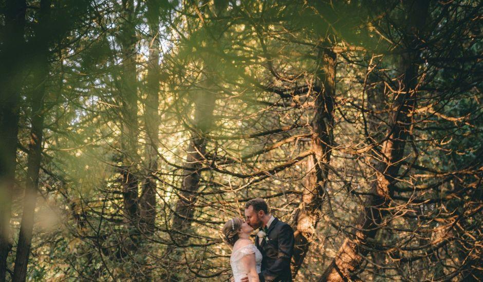 Daniel Collet and Holly Daniel's wedding in Roseneath, Ontario