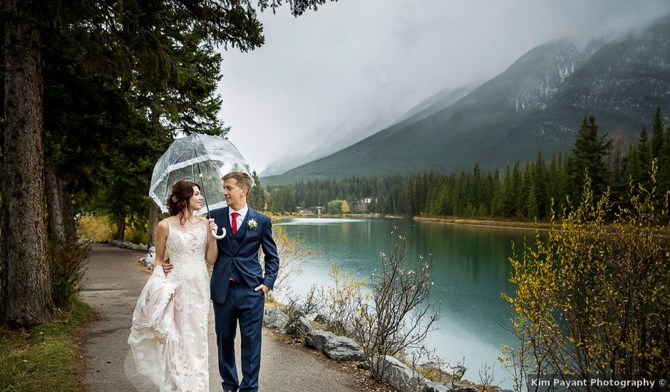 Andy And Alicia's Wedding In Banff, Alberta