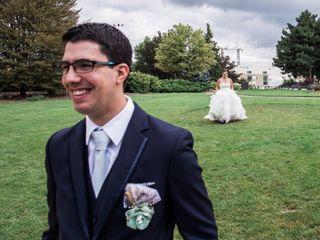 The wedding of Sarah and Matt 2