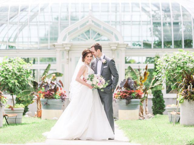 The wedding of Allison and Dan