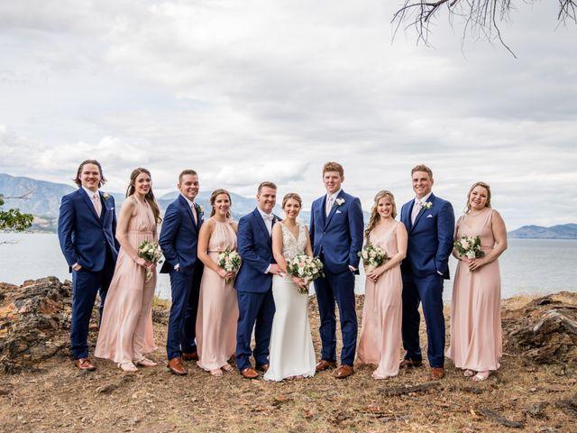 Jeffrey and Kaylee's wedding in Kelowna, British Columbia 19