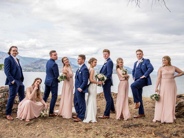 Jeffrey and Kaylee's wedding in Kelowna, British Columbia 20