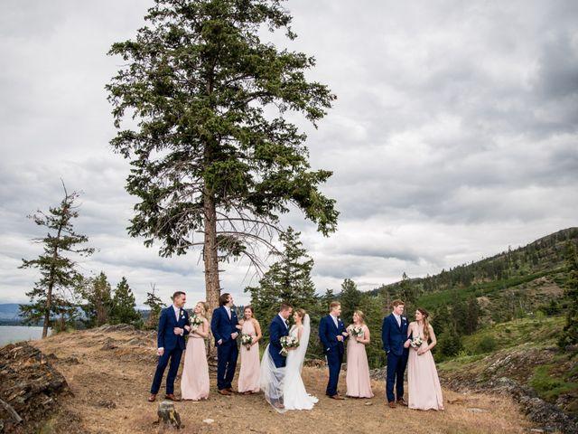 Jeffrey and Kaylee's wedding in Kelowna, British Columbia 21