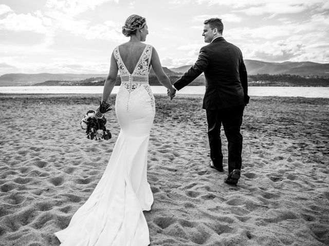 Jeffrey and Kaylee's wedding in Kelowna, British Columbia 2