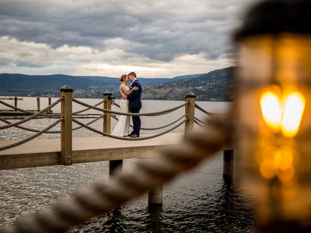 Jeffrey and Kaylee's wedding in Kelowna, British Columbia 34