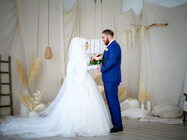 The wedding of Mahdi and Zeinab