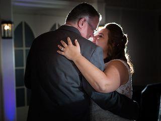 The wedding of Kristina  and Mark