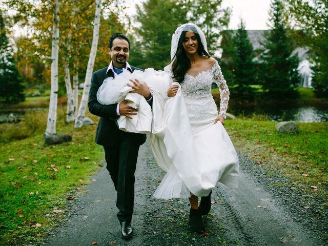 The wedding of Pamela and Zeb