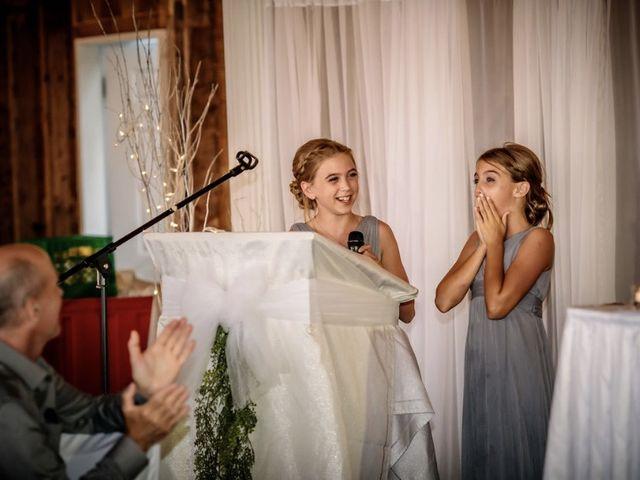 Steven Frazee and Nicole Frazee's wedding in West Bay, Nova Scotia 1