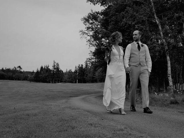 Steven Frazee and Nicole Frazee's wedding in West Bay, Nova Scotia 8
