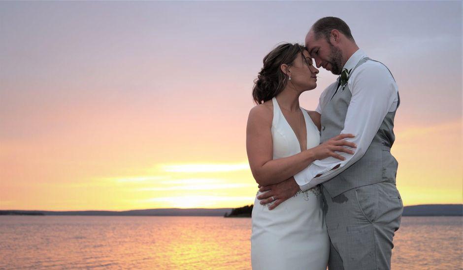 Steven Frazee and Nicole Frazee's wedding in West Bay, Nova Scotia