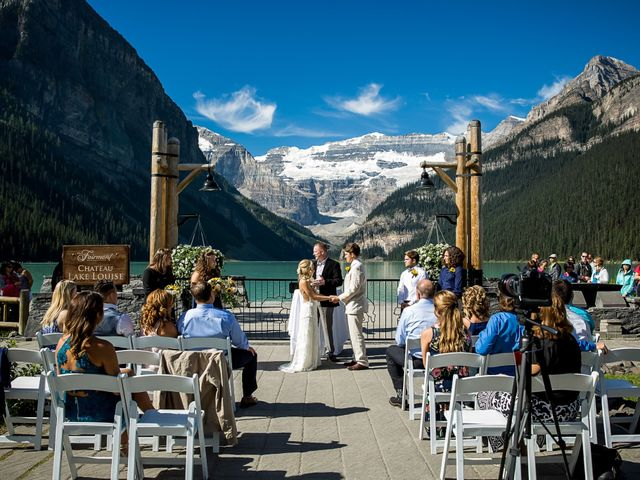 Cameron & Brant's Real Wedding By Fairmont Chateau Lake Louise