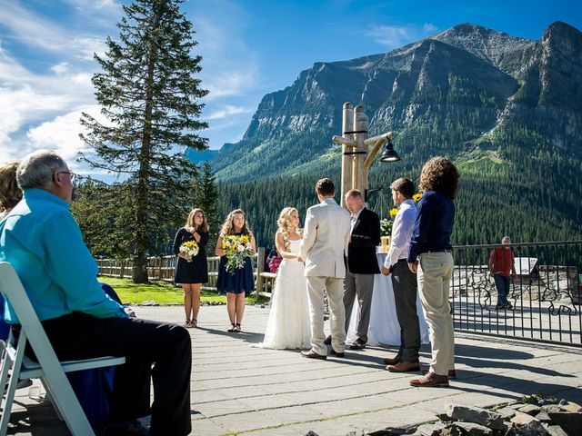 Brant and Cameron's wedding in Lake Louise, Alberta 6