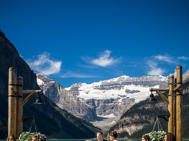 Brant and Cameron's wedding in Lake Louise, Alberta 8