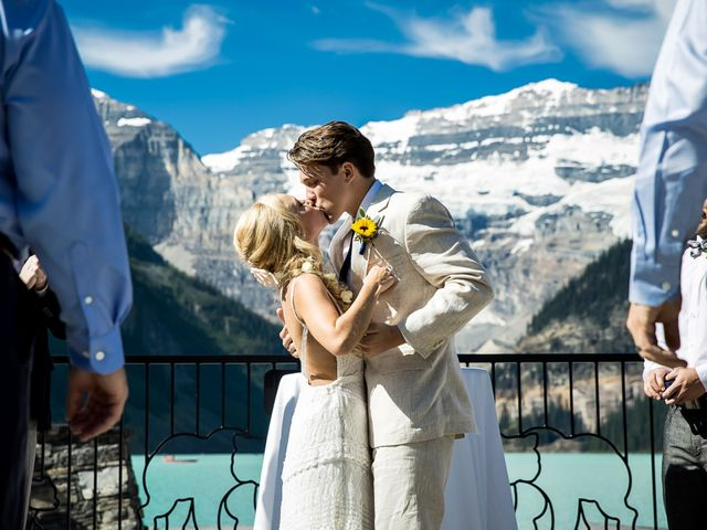 Brant and Cameron's wedding in Lake Louise, Alberta 9
