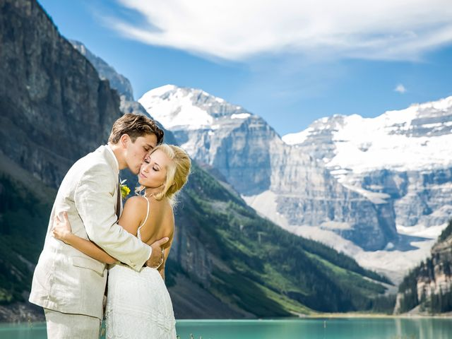Brant and Cameron's wedding in Lake Louise, Alberta 10