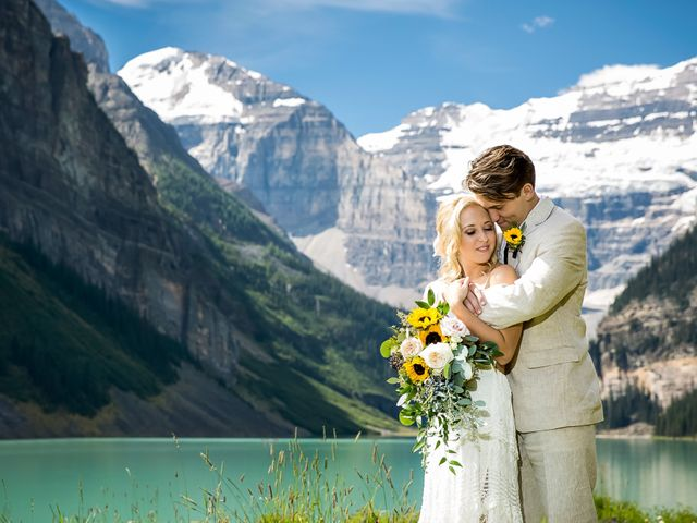 Brant and Cameron's wedding in Lake Louise, Alberta 11