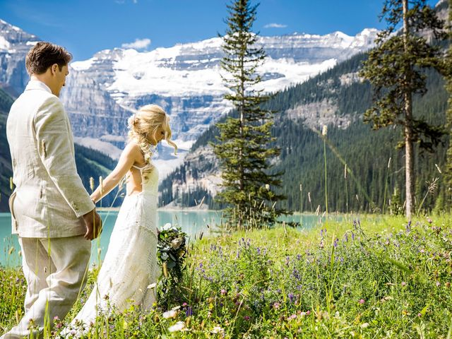 Brant and Cameron's wedding in Lake Louise, Alberta 12