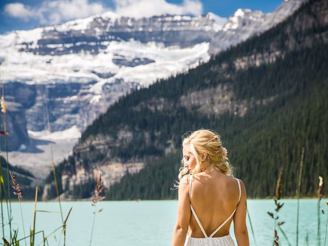 Brant and Cameron's wedding in Lake Louise, Alberta 16