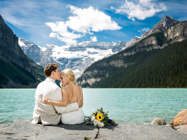Brant and Cameron's wedding in Lake Louise, Alberta 2