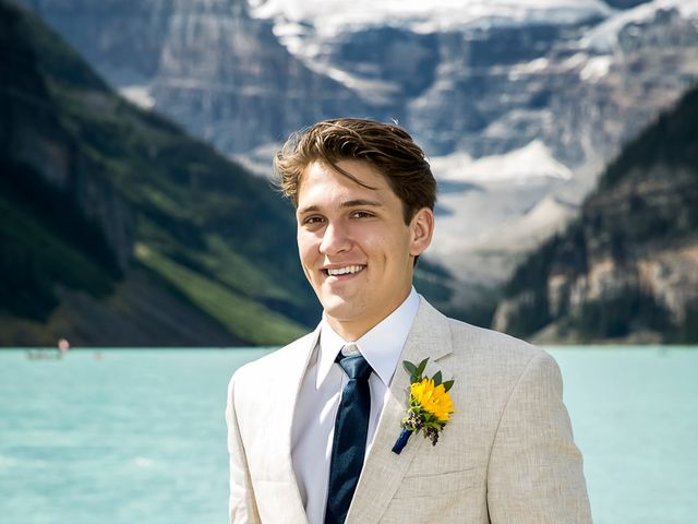 Brant and Cameron's wedding in Lake Louise, Alberta 17