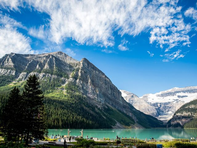 Brant and Cameron's wedding in Lake Louise, Alberta 21