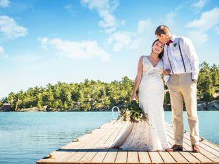 The wedding of Jess and Josh