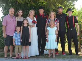 The wedding of Megan and Al