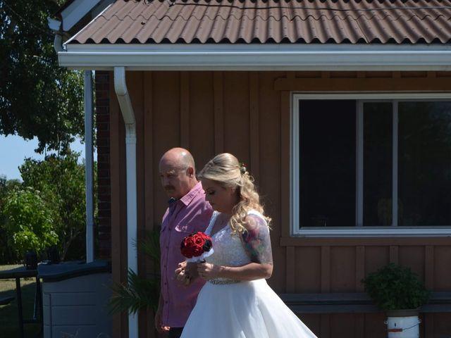 Al  and Megan's wedding in Niagara on the Lake, Ontario 3