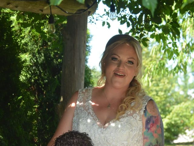 Al  and Megan's wedding in Niagara on the Lake, Ontario 1