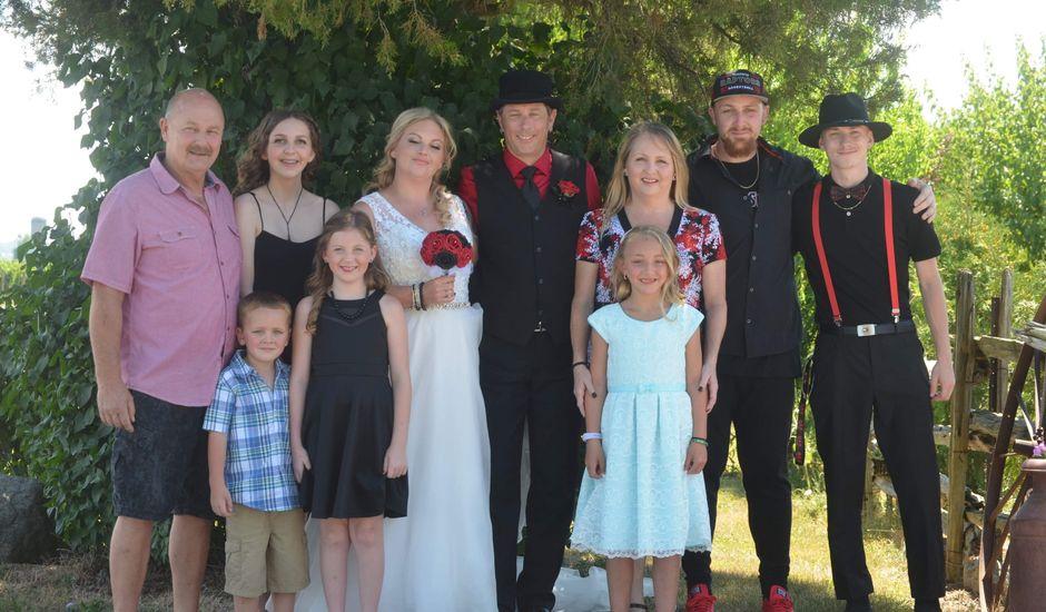 Al  and Megan's wedding in Niagara on the Lake, Ontario