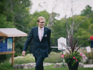 Sean and Emily's wedding in Walters Falls, Ontario 24