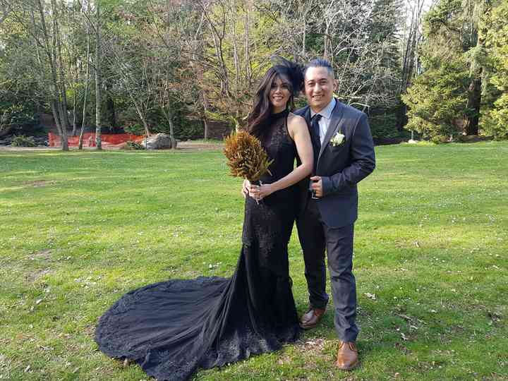 The wedding of Rula  and Christian