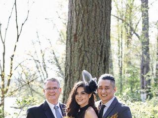 The wedding of Rula  and Christian  1